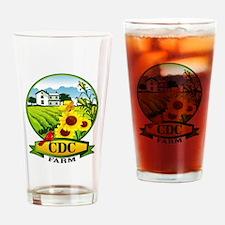 CDC Farms Drinking Glass