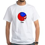 Tess White T-Shirt