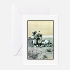 A Moment of Great Peril Greeting Cards (Pk of 10)