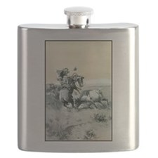 A Moment of Great Peril Flask