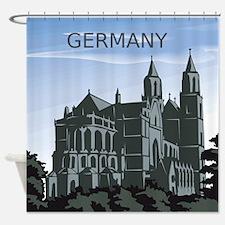 Germany Landscape Shower Curtain