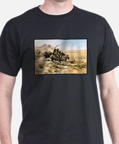 Attack on a Wagon Train, 1902 T-Shirt