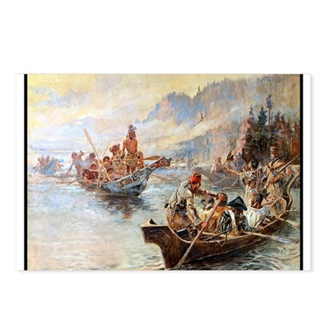 Lewis and Clark on the Lower Columbia, Postcards (