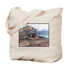 Mourning Her Warrior Dead, 1899.png Tote Bag