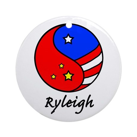 Ryleigh Ornament (Round)