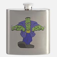 Cartoon Frankenstein Flask