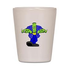 Cartoon Frankenstein Shot Glass