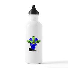 Cartoon Frankenstein Water Bottle