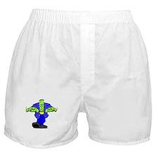 Cartoon Frankenstein Boxer Shorts