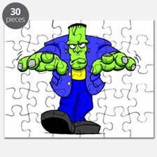 Cartoon Frankenstein Puzzle