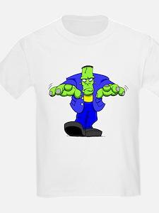 Cartoon Frankenstein T-Shirt