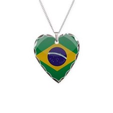 Brazilian Button Necklace