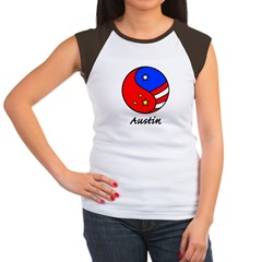 Austin Women's Cap Sleeve T-Shirt