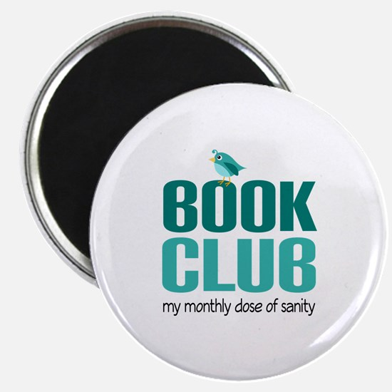 "Book Club Sanity 2.25"" Magnet (10 pack)"
