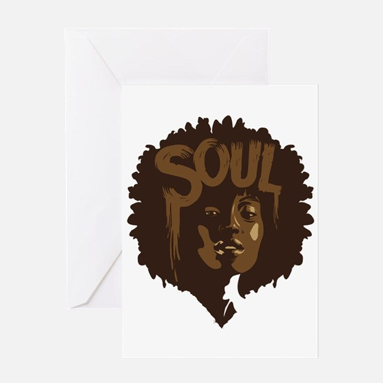 Soul Fro Greeting Card