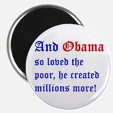 Obama So Loved The Poor Magnet