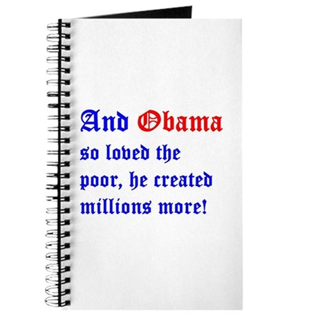 Obama So Loved The Poor Journal