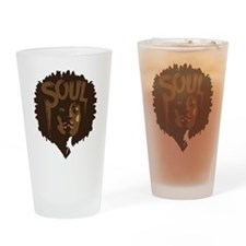 Soul Fro Drinking Glass
