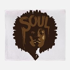 Soul Fro Throw Blanket