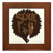 Soul Fro Framed Tile