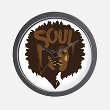 Soul Fro Wall Clock