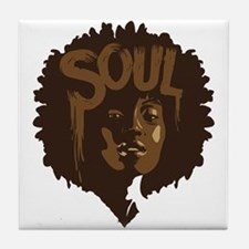 Soul Fro Tile Coaster