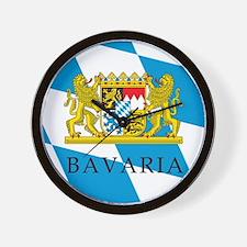 Bavaria Coat Of Arms Wall Clock