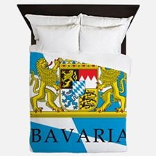 Bavaria Coat Of Arms Queen Duvet