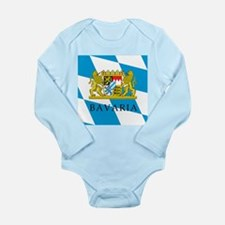 Bavaria Coat Of Arms Long Sleeve Infant Bodysuit