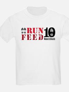 RUN 10 FEED 10 T-Shirt