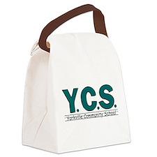 Unique Basic logo Canvas Lunch Bag