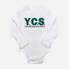 Cute Basic logo Long Sleeve Infant Bodysuit