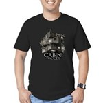 Cabin in the Woods Cube Men's Fitted T-Shirt