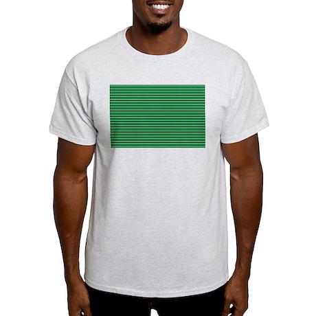 horizontal stripe Light T-Shirt