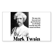 Mark Twain Decal