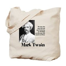 Mark Twain Tote Bag