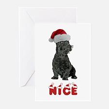 Nice Scottish Terrier Greeting Cards (Pk of 20)