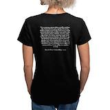 Pirate Womens V-Neck T-shirts (Dark)