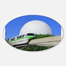 Monorail sample Sticker (Oval)