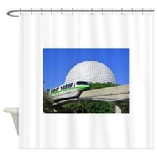 Monorail sample Shower Curtain