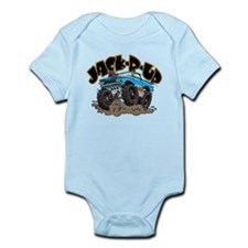Big Blue El Camino Infant Bodysuit