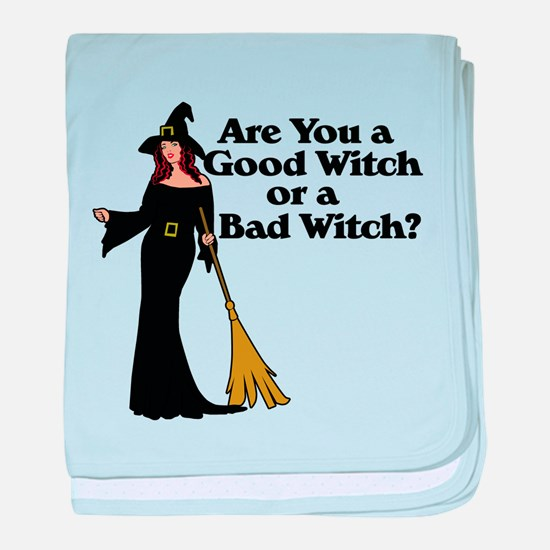 Good witch or BAD witch baby blanket