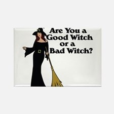 Good witch or BAD witch Rectangle Magnet