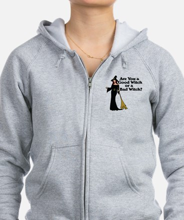 Good witch or BAD witch Zip Hoodie