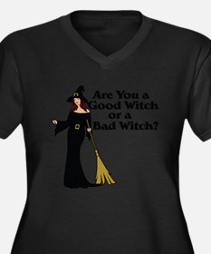 Good witch or BAD witch Women's Plus Size V-Neck D