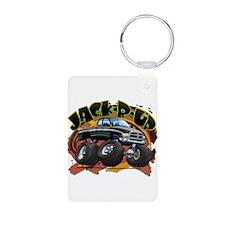 Black Jack-R-Up Ram Keychains