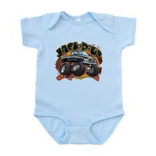 Black Jack-R-Up Ram Infant Bodysuit