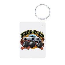 White Jack-R-Up Ram Keychains
