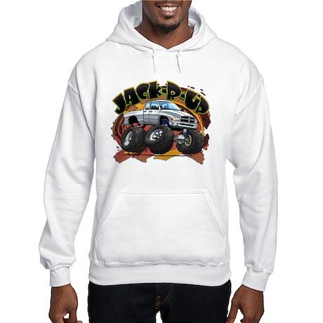 White Jack-R-Up Ram Hooded Sweatshirt