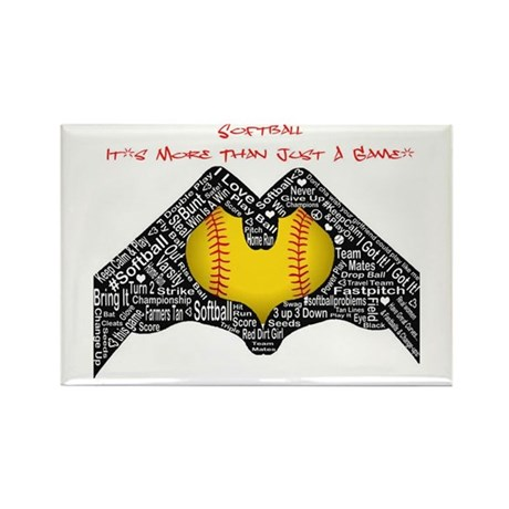 Softball - It's More Than Just A Game! Rectangle M